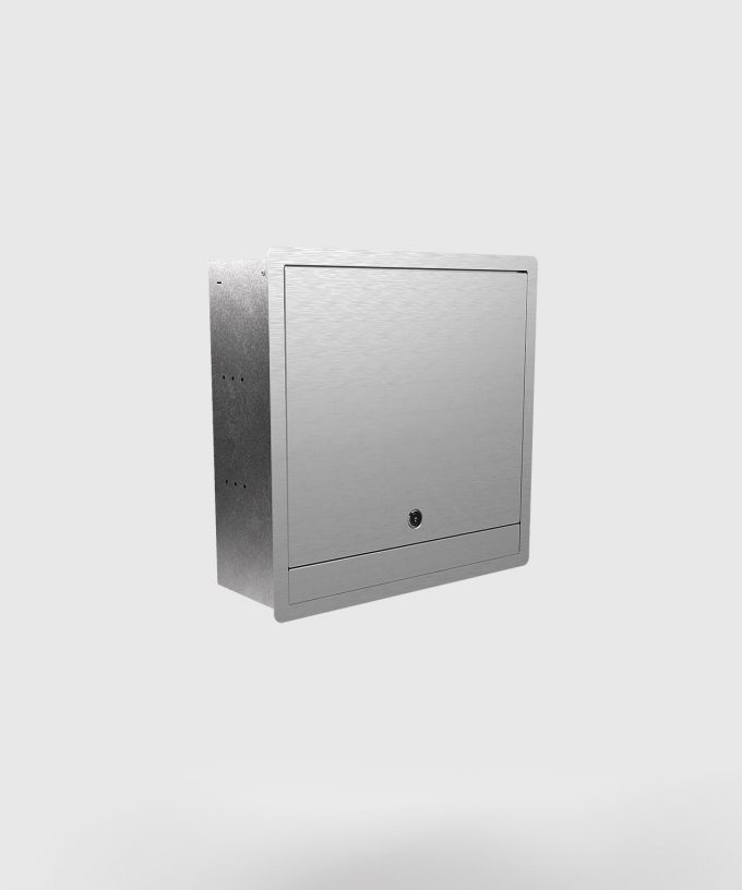 wall distributor 5523A lid door closed