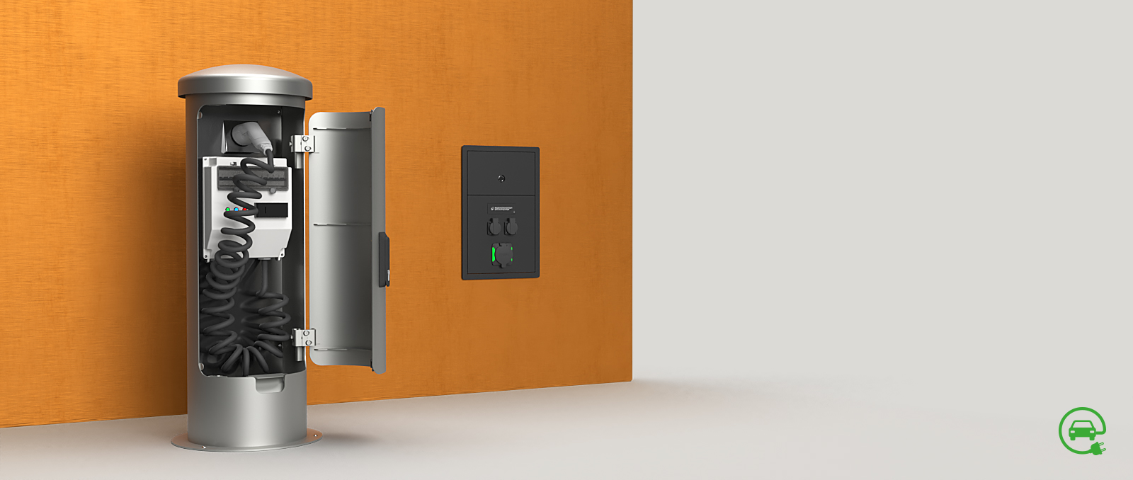 E-Mobility-Banner-2-with-charging station-and-wall charging station-1600×678