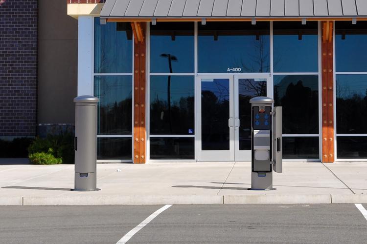 ESP14-socket pillar power distribution column At the parking lot-750×500